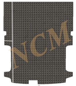 FORD TRANSIT CUSTOM LWB 2013-2020 TAILORED RUBBER MAT in 3MM & 5MM THICKNESS