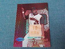 2002 Bowman Best # 154 Yurendell De Caster Bat Card (B17) Pittsburgh Pirates