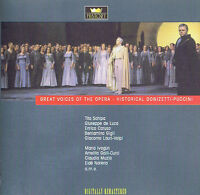 Great Voices of the Opera - Historical Donizetti- Puccini CD ( 2CD ) Doppel CD