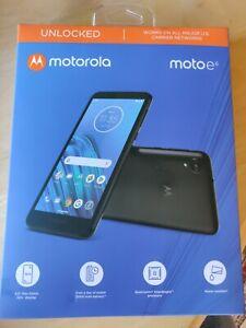 "New Black Factory Unlocked Motorola Moto E6 16GB 5.5"" HD+ Display GSM CDMA Phone"