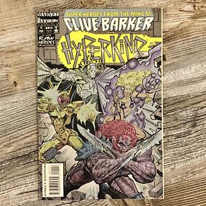 HYPERKIND #1 (Marvel Razorline, 1993) | by Clive Barker, foil-embossed cover, NR