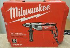 Milwaukee 1/2 in. Heavy-Duty Hammer Drill - 5380-21 BRAND NEW R132