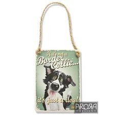 Little Paws 3600 Border Collie Dog Plaque