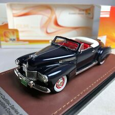 1/43 GLM Model Cadillac 62 Series Convertible Coupe Blue Metallic 1941 GLM119701