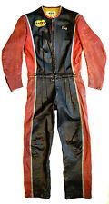 BATES Vintage 60´s Flat Track Race Suit Lederkombi Motorrad Anzug 48