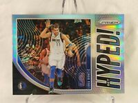🔥 2019-20 LUKA DONCIC SILVER PRIZM PANINI PRIZM GET HYPED! 🔥FAST SHIPPING🔥 02