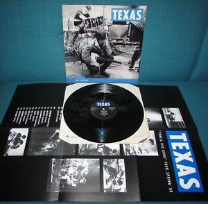 "TEXAS Thrill Has Gone ORIGINAL 1st UK MERCURY 1989 12""  45"" + LARGE POSTER"