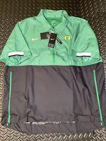 Nike On Field Oregon Ducks 1/2 Zip Coaches Sideline Jacket CQ5173-377 Sz.M Rare