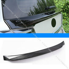 Glossy Black Rear Middle Spoiler Wing Lip For Toyota Land Cruiser LC200 2016-19