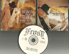 Kid FROST What's your Name w/ RARE INSTRUMENTAL & ACAPPELLA PROMO DJ CD single