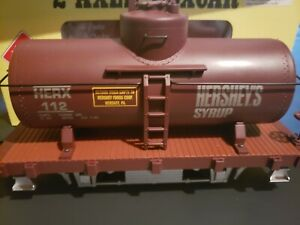 Aristocraft Hershey's Syrup 2-Axle Tank Car #1 Gauge 1:29 Scale, in box