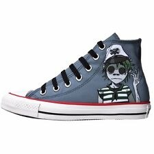 CONVERSE SCHUHE ALL STAR CHUCKS UK 5 EU 37,5 GORILLAZ LIMITED EDITION GRAU LEAD