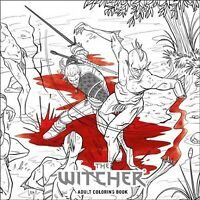 Witcher Adult Coloring Book, Paperback by Strychowska, Marianna (ILT); Tang, ...