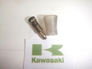 KAWASAKI ZR-7 ZR750 ZR7 S CARB CARBURETTOR FLOAT BOWL DRAIN SCREW X1 1999 - 2004