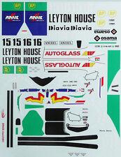 1/10 1990 Leyton house 901 Adrian Newry F1 decal for F103 F04W RC Body