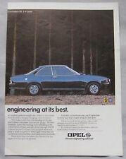 1974 Opel Original advert No.1