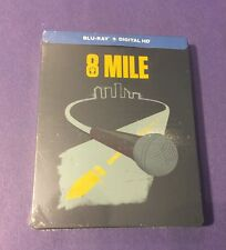 8 Mile Blu-ray Disc *Limited STEELBOOK Edition* NEW