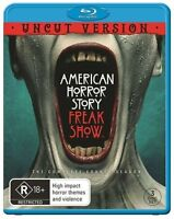 American Horror Story : Season 4 (Blu-ray, 2015, 3-Disc Set)