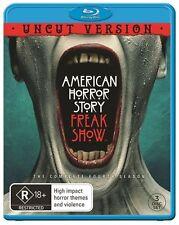 American Horror Story : Season 4 (Blu-ray, 3-Disc Set) NEW