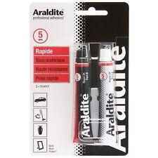 ARALDITE RAPIDE TUBE 2x15 ML FAIENCE PIERRE MARBRE CERAMIQUE CUIR BOIS...