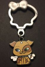NEW Monster High Day at the Maul Frankie Watzit Key Chain ZipperPull Clip Loose