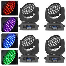 36x10W Zoom Multi Par Moving Head Light 360W RGBW LED DMX16CH Party Wedding 4PCS