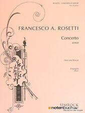 SIMROCK ROSETTI (ROESLER) ANTONIO - HORN CONCERTO IN D MINOR MURRAY C38 - Cor et