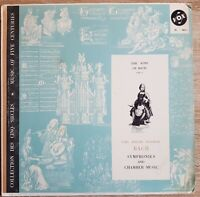 Carl Philipp Emanuel Bach Symphonies and Chamber Music MONO VOX DL 463-1
