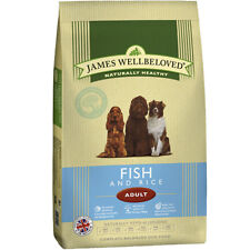 James Wellbeloved Adult Fish and Rice Hypoallergenic Gluten Free Dog Food 15kg