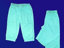 Capri Pants Trousers Bermuda Women's Girl's Size 170/176/S Light Green