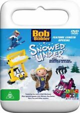 Bob The Builder - Snowed Under - The Bobblesberg Winter Games (DVD, 2005)