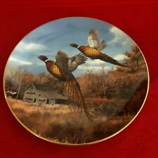 David Maass Pheasant Plate Collection~Danbury Mint~F7655~Autumn's Splendor