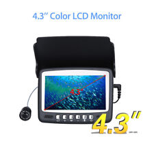 "Eyoyo 15M 4.3"" Monitor Fishfinder HD 1000TVL Underwater Fishing Camera 130° FOV"