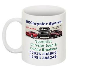 UK Chrysler spares Tea Mug Coffee Cup