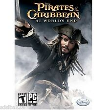 NEW Pirates Caribbean At World's End PC dvd rom computer game Disney
