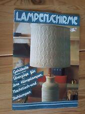 xxx   Lampenschirme, gehäkelte Überzüge für Hängelampen Nachttisch u. Stehlampen