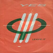 """YES – Leave It (1984 VINYL SINGLE 7"""" GERMANY)"""