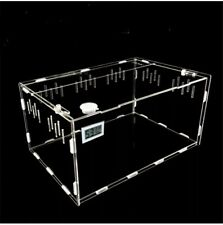 Acrylic Reptile Isopod Cage W/Hygrometer Us Seller Usps Priority Shipping