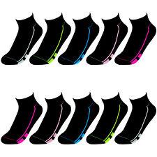 60 Paar Sneaker Socken Damen Sport Freizeit Kurzsocken Füßlinge Sneakers Schwarz