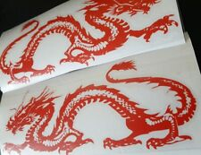 DRAGON RACING K750 1000 DECALS STICKERS TAIL TANK RED GLOSS 2019 COLOURS X2 CHRO