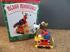 Disney Mickey Express Series Goofy Caboose #5 Christmas Ornament Train In Box