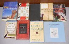 Books on Books Literary Life Reading Stephen King Lamott Hanff Roots 9 books