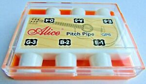 Acoustic Guitar Pitch Pipe Tuner