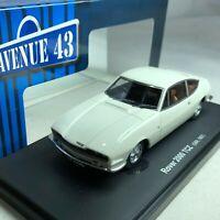 1/43 Autocult Rover 2000 TCZ GBR 1967 White Avenue 43 #60024