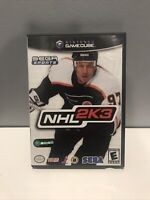 NHL 2K3 Nintendo GameCube 2002 Video Game Complete Manual Tested Working Hockey