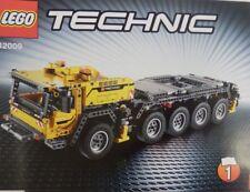 LEGO TECHNIC 42009 Portable HEAVY DUTY GRUE DE NOUVELLES INSTRUCTIONS livres Seulement Manuel