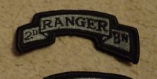 ARMY PATCH, 2ND RANGER BATTALION ,ACU, WITH VELCR