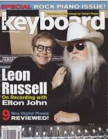 MARCH 2011 KEYBOARD vintage music magazine LEON RUSSELL