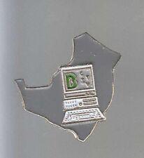 RARE PINS PIN'S .. BANQUE BANK BNP INFORMATIQUE PC CITV NORMANDIE ~AT