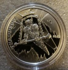 Thaddeus the Aviator 1 oz .999 Silver Proof Round Angels & Demons Steampunk NEW